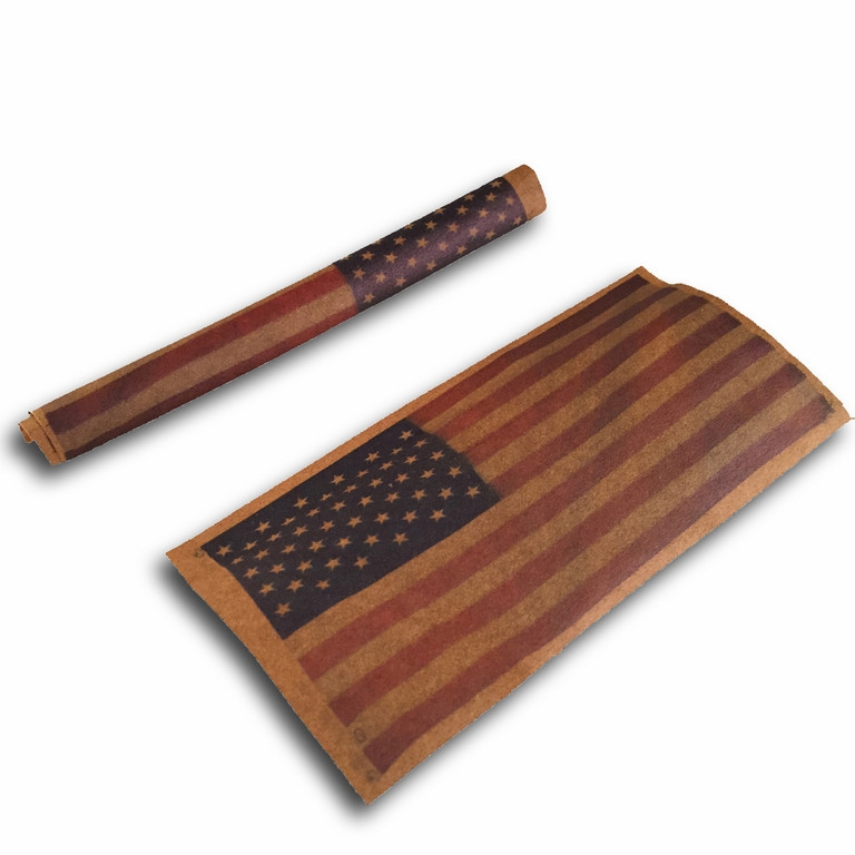 Shine American Flag Tattooed Rolling Papers